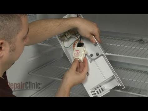refrigerator defrost timer replacement ge refrigerator