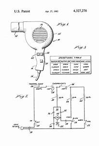 Patent Us4327278 - Simplified Multiple Speed Hair Dryer