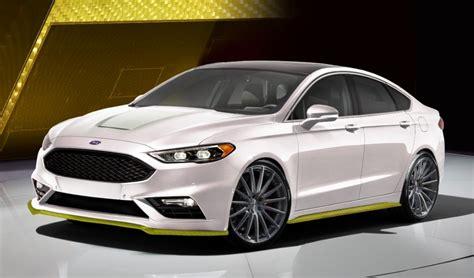 Fusion Sema by Sema Preview Ford Fusion Sport