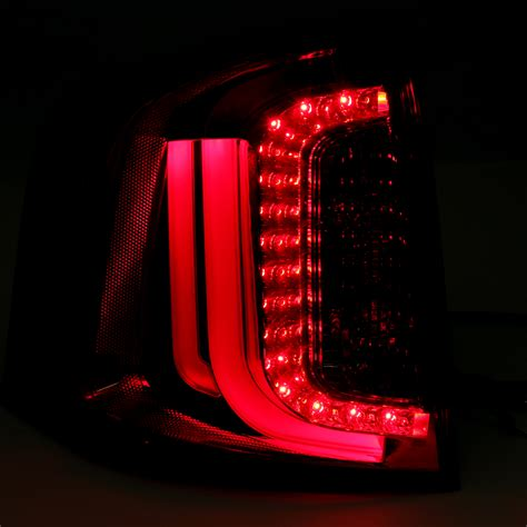 ford edge tail lights 2011 2014 ford edge performance led tail lights red clear