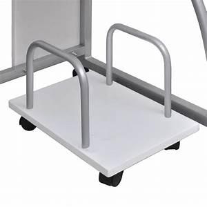 Etagere Pour Bureau : la boutique en ligne table de bureau blanche pour ordinateur avec tag re ~ Teatrodelosmanantiales.com Idées de Décoration