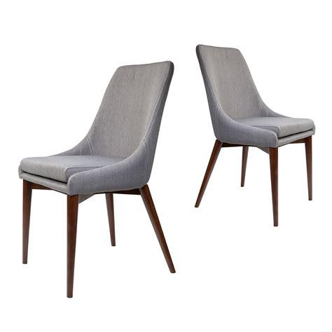 lot de 2 chaises chaises en tissu juju x2 par drawer