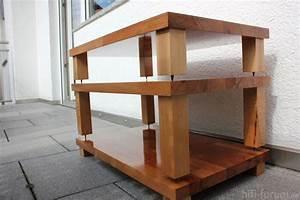 Tv Tisch Selber Bauen : hifi rack selber bauen haus design ideen ~ Watch28wear.com Haus und Dekorationen