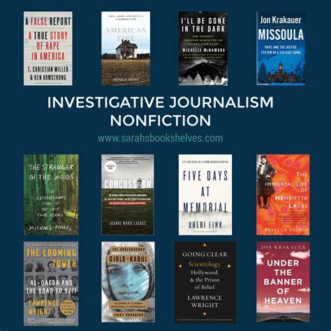 Investigative Journalism by Nonfiction November 2018 Be The Expert Investigative