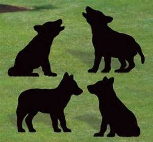 wolf pup silhouette bing images wolf fam wolf pup