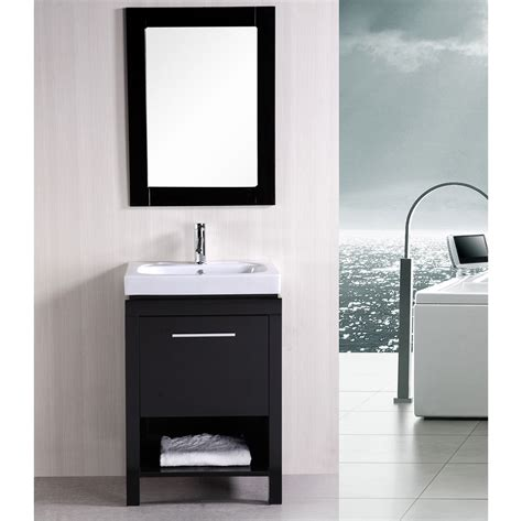 large single sink vanity marly 24 quot single sink vanity set zuri furniture