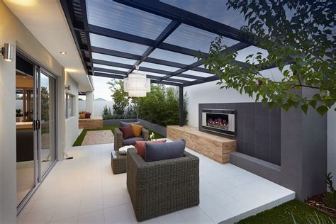 Terrasse überdacht Modern by Cosy Outdoor Entertainment Area Design Seen In Quot The