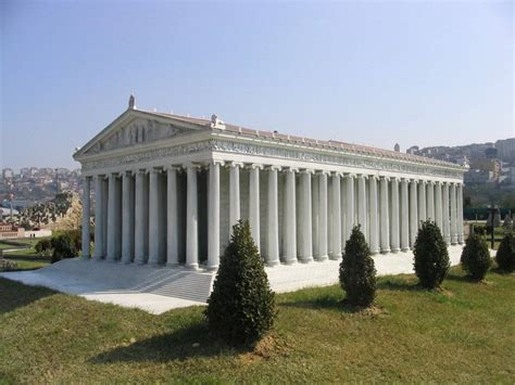 On The World Map Where Is Temple Of Artemis At Ephesus