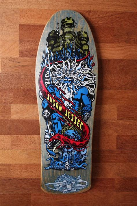 jason jessee deck value santa jason jessee quot neptune quot mermaid