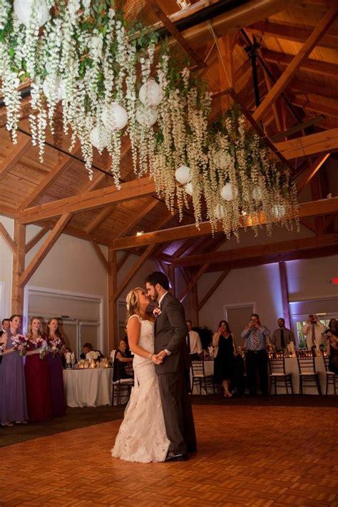 romantic wedding hanging flowers google search
