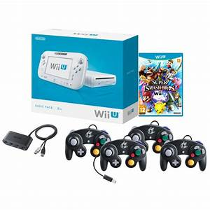 Nintendo Wii Basic With Super Smash Bros + 4 Gamecube ...