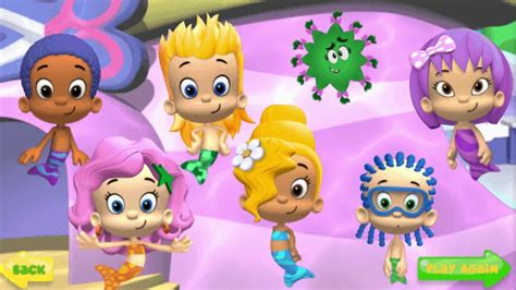 Bubble Guppies  Good Hair Day (gameplay Online) Youtube