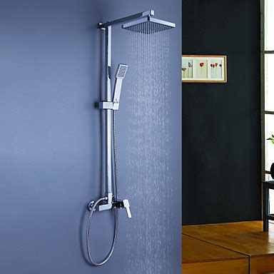 contemporary shower system rain shower handshower included