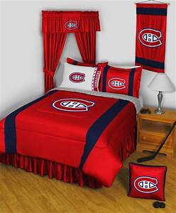 Buy, Montreal, Canadiens, Bed, In, A, Bag, Comforter, Set, In, Cheap