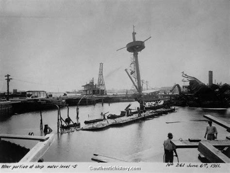 Pictures Of The Uss Maine Sinking by The American War Part 4 Aftermath