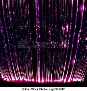Lumiere Fibre Optique : fibre lumi re optique rideau photographie salle ~ Premium-room.com Idées de Décoration