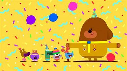 Duggee Hey Giphy Dog Happy Tweet Gifs