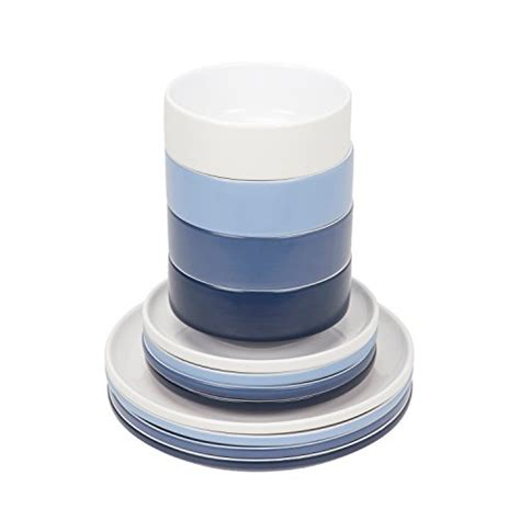 dinnerware stackable plates dinner compact including piece person living side bowls cereal soup dessert earthenware protector glass amazon screen