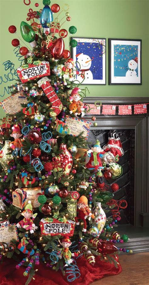 2013 raz postmark christmas decorated trees pinterest