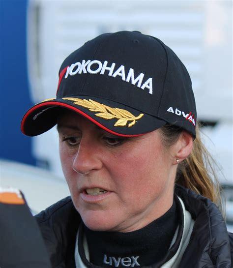 Rip the great sabine schmitz. fellow presenter chris harris also posted: Sabine Schmitz nach dem Training zum WTCC-Rennen 2015 ...