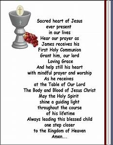 First Holy Communion poem | FIRST COMMUNION | Pinterest ...