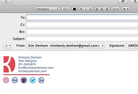 Email Signature Template Inspiration by 50 Best Professional Html Outlook Email Signature