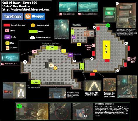 exo map layout duty call warfare advanced zombies outbreak atlas outside zombie layouts easter area spawn eggs run