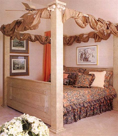 faux poster bed wood furniture plans