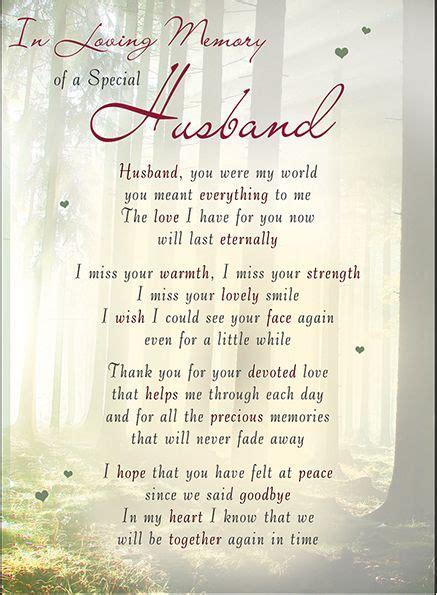 loving memory   special husband