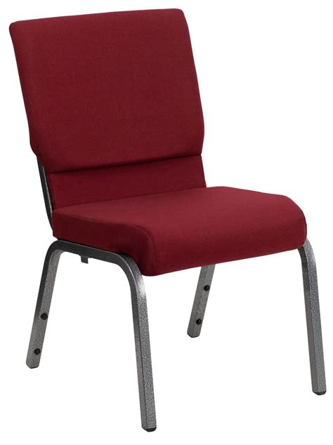 Hercules Stackable Church Chairs by Hercules Series Burgundy Fabric Stacking Church Chair From