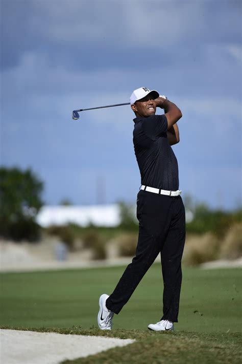Woods returns with solid round and good start in Bahamas ...