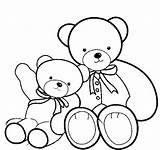 Coloring Pages Bear Teddy Colouring Bears Printable Drawing Clipart Build Smaller Sheet Lineart Clip Sheets Volunteer Line Library Emo Getcolorings sketch template
