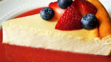 is ny style cheesecake refrigerated new york style cheesecake recipe allrecipes