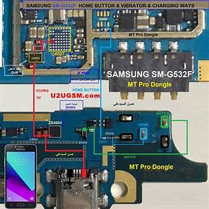 Samsung Galaxy Grand Prime Plus G532f Home Key Button Not Working Problem Solution Jumper