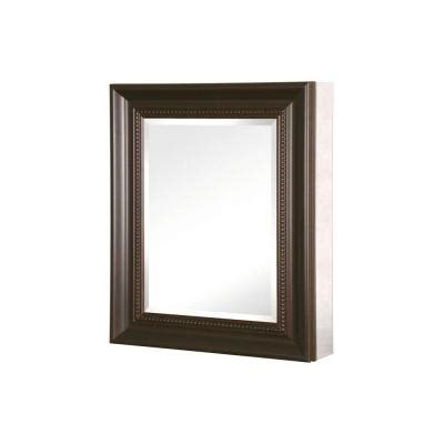 Recessed Medicine Cabinet Espresso Home Depot by Pegasus 24 In X 30 In Recessed Or Surface Mount Mirrored