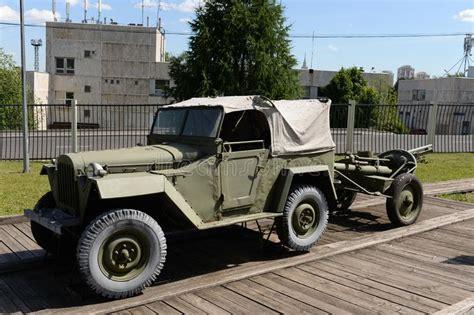 carrozza ferroviaria jeep sovietica gaz 67 immagine stock editoriale immagine