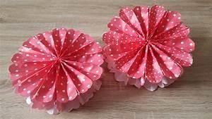 Blume Aus Frühstückstüten : 3d blume aus papiert ten basteln 3d paperflower youtube ~ Watch28wear.com Haus und Dekorationen