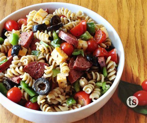 pasta salad recipee italian pasta salad recipe dishmaps