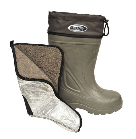 Boots For Fishing On A Boat by Marlin Insulated Liner Fishing Deck Waterproof Boat Boots