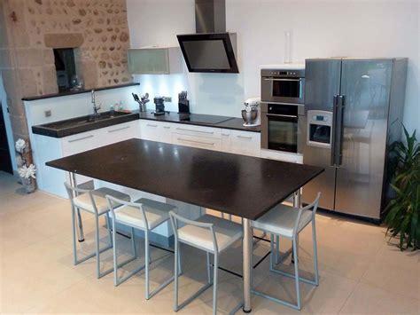 mod鑞e de plan de travail pour cuisine table de cuisine plan de travail maison design bahbe com