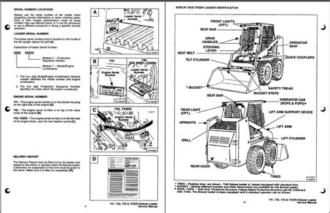Bobcat 741 Wiring Diagram bobcat 743 ignition wiring diagram on 742 wiring diagram