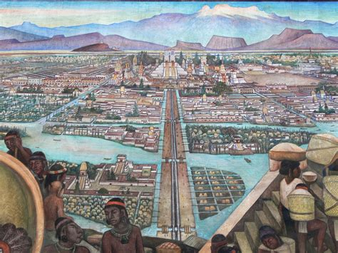siege de mural bcr year 8 history images of tenochtitlan