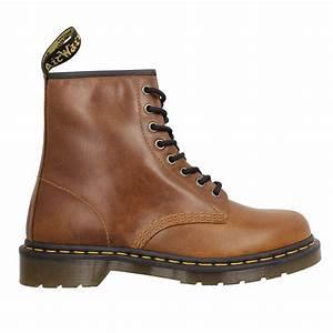 Chaussure Homme Doc Martens : dr martens 1460 cuir homme butterscotch homme fanny chaussures ~ Melissatoandfro.com Idées de Décoration