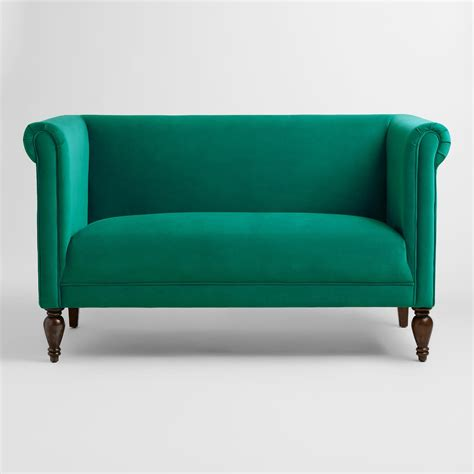 Green Settee by New Orleans Settee Collective Rentals Design House