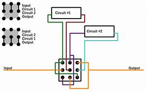 A Useful Way To Wire A 3pdt Switch  Circuit Block Order Switcher   Diypedals