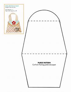 7 best images of free printable paper purse templates With free craft templates to print
