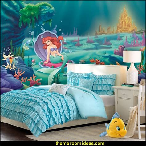 The Mermaid Bedroom Decor by Decorating Theme Bedrooms Maries Manor Mermaid