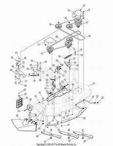 Mtd 13at605h718  2006  Parts Diagram For Deck Assembly