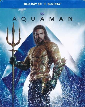 aquaman steelbook blu ray  blu ray blu ray