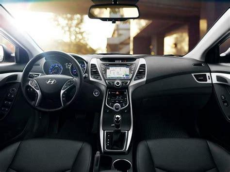 hyundai elantra sedan interior black leather cars hyundai accent hyundai cars vehicles